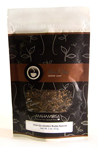 Mahamosa China Black Tea Loose Leaf Looseleaf - Zhen Qu Golden Buds Special Yunnan Royal Gold 2 oz