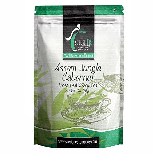 Special Tea Company Assam Jungle Cabernet Loose Black Tea 3 oz