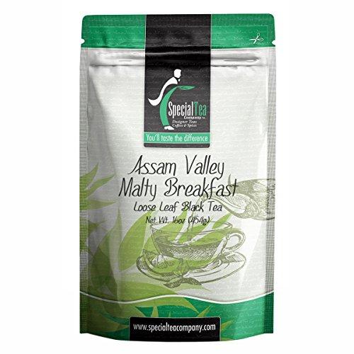 Special Tea Company Assam Valley Malty Breakfast Loose Black Tea 16 oz