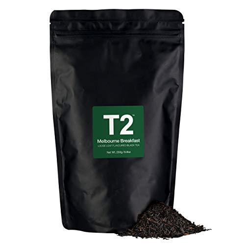 T2 Tea - Melbourne Breakfast Black Tea Loose Leaf Black Tea in Resealable Refill Bag 250g 88oz