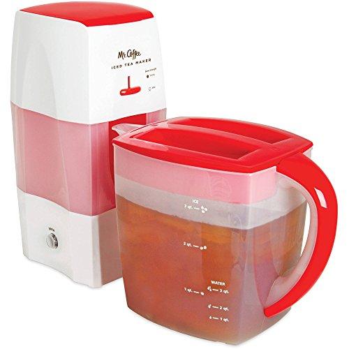 Mr Coffee Fresh Tea Iced Tea Maker 3-Quart Capacity Dishwasher-Safe Pitcher