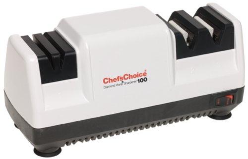 Chef's Choice 100w Diamond Hone Knife Sharpener, White