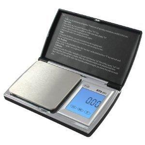 American Weigh Scale Bt2-1000 Digital Gram Pocket Grain Jewelry Scale, Black, 1000 By 0.1 Grams (10 Year Warranty)