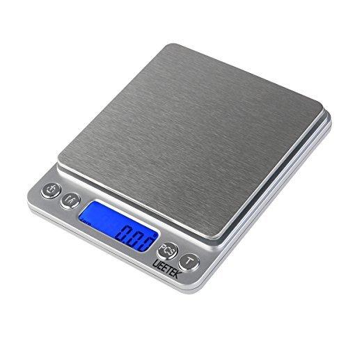 UEETEK 500g001g Digital Pocket Scale Digital Food Scale Jewelry Scale with LCD Screen