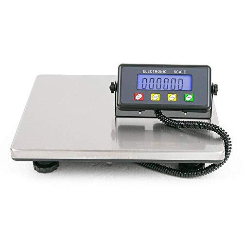 1024 Byte Shop 200kg  50g Digital Postal Scale Silver  Black