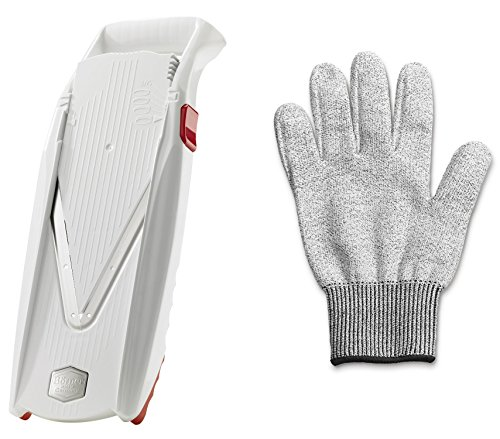 Swissmar Borner V Power Mandoline V-7000, Includes Free Cutting Glove White