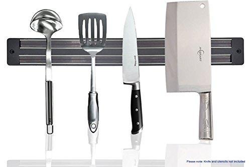 Magnetic Knife Holder 33 cm  13 inch Magnet Rack Strip Bar Storage Wall Mount for Kitchen Knife Knives Tool Spoon Display Rack Organizer - No Dead Spots - Best Magnetic Knife Rack - By SublimeWare