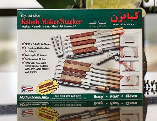 Kabob Maker and Stacker