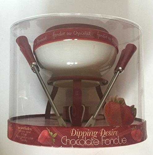 Dipping Desire Chocolate Fondue Pot 7 Piece Set