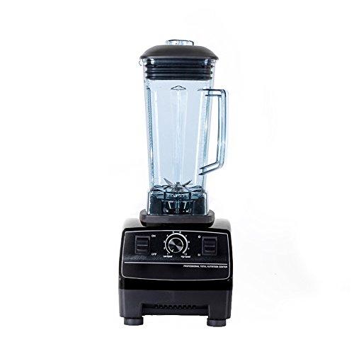 Glantop® Official Professional Commercial Blender (black, 2200w, 2l)