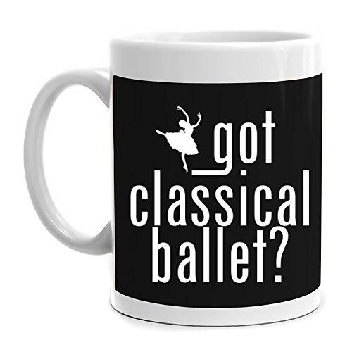 Eddany Got Classical Ballet silhouette Mug