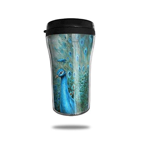 Peacock Coffee Mug Cool Personalized Tea Mug Custom Printed Insulated Mugs 250 ML Travel Mugs Unique Design Cups