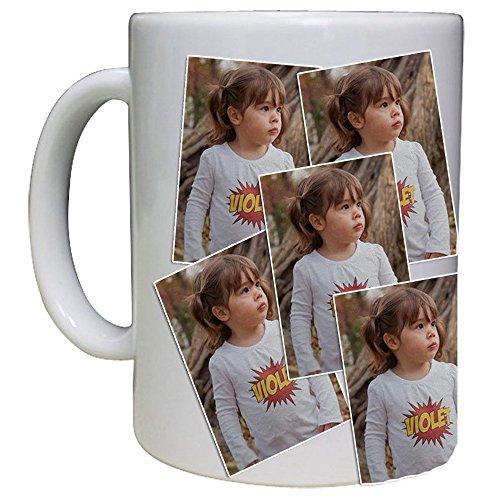 Personalized Mug - Photo Collage Custom Mug 15 Oz White