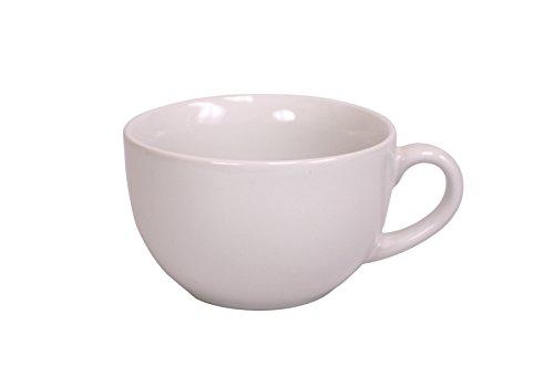 Home Basics Jumbo Ceramic Mug 22 Oz White