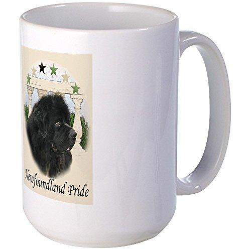 CafePress - Newfoundland Pride Large Mug - Coffee Mug Large 15 oz White Coffee Cup