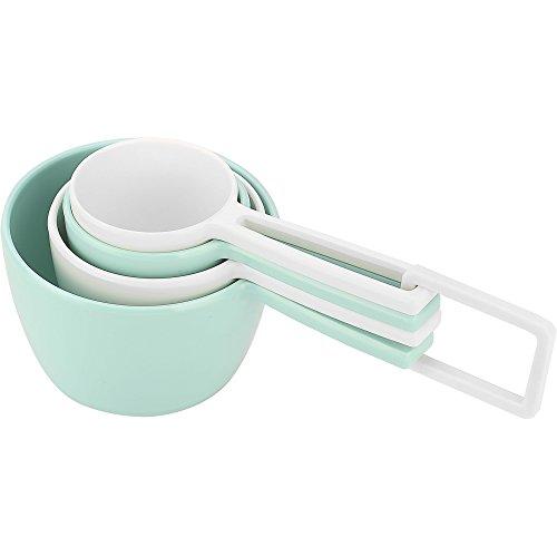 Zak Designs 2324-7440 MeeMe Measuring Cups 4-piece set Eggshell White
