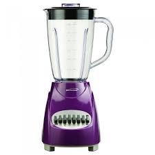 BRENTWOOD JB-220PR 12-Speed Blender with Plastic Jar Purple