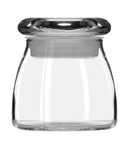Libbey 4-12-Ounce Spice Jar with Lid Set of 12
