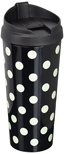 Kate Spade New York Thermal Mug Le Pavilion black Dots  Black Deco Dots