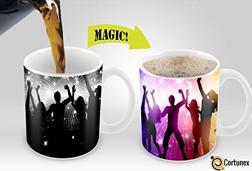 Heat Sensitive Morphing Mug  Color Changing Coffee Mug  Funny Coffee Cup  Party Magic Mug 11oz white mug Funny CoffeeTea Cup  100 Ceramic Great Gift Idea