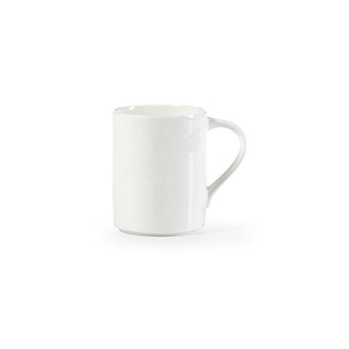 Mikasa Elegance White Mug