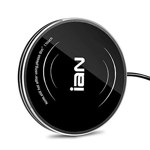 IAN Desktop Coffee Mug Cup Warmer Beverage Warmer for Office Home Use Black
