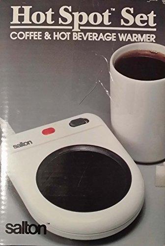Salton Hot Spot Set Coffee Hot Beverage Warmer  Bonus Mug