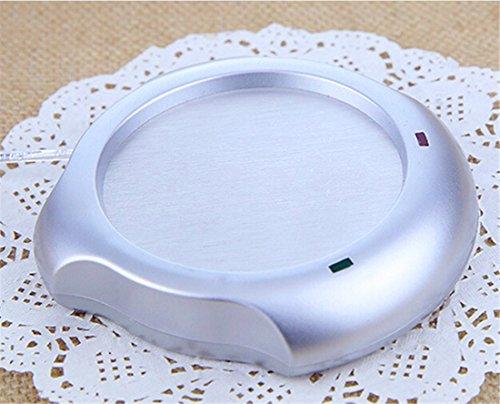 Surborder Shop Coffee Mug Warmer Desktop USB Electronics Heat Cup Warmer Pad Plate