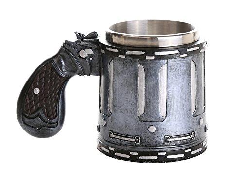 Novelty Revolver Gun Coffee Mugs Gun Mugs Pistol Cup 11oz