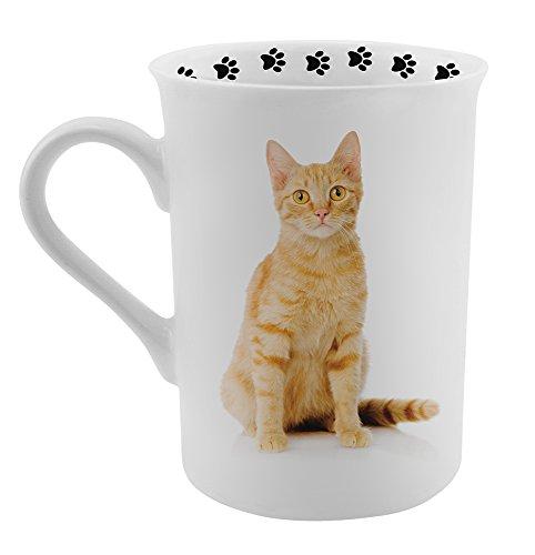 Dimension 9 Ginger CatOrange Kitten Coffee Mug White