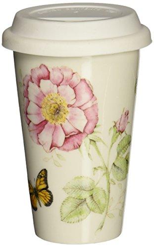 Lenox Butterfly Meadow Thermal Travel Mug -10 oz White - 837583