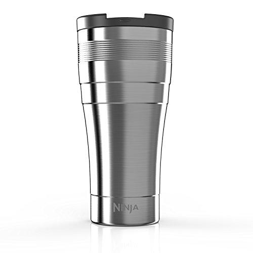 Ninja Coffee Bar XL 22-Ounce Double-Wall Thermal Multi-Serve Travel Mug CFSSTM22W Stainless Steel