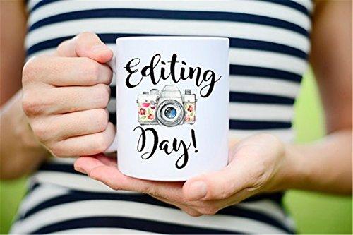 Editing Day Photographer Gift Photographer Mug Editing Day Mug Photography Gift Photography Mug Photography gifts Camera Mug Camera