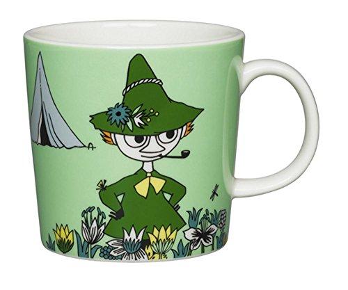 Arabia Ceramic Moomin Mug Cup 10 floz – Snufkin Green