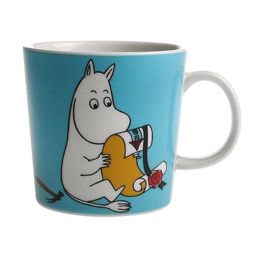 Arabic Moomin mug  Moomin  turquoise  parallel import goods