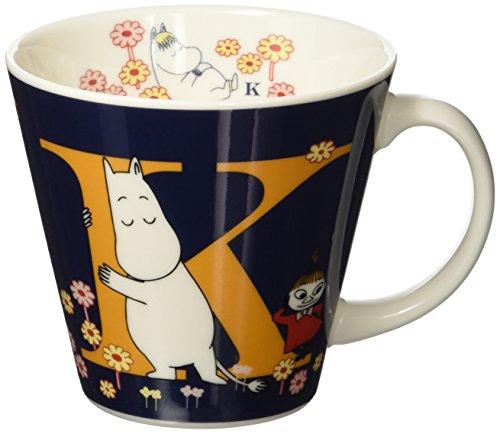 Moomin Valley Porcelain Initial Mug Cup 'K' Yamaka Japan