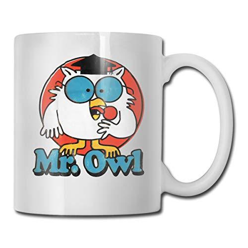 Mr Owl Coffee Mug 11 Oz Coffee Mug Funny Coffee Mug Tea Cup Novelty Birthday Gift Ideas For Men Women