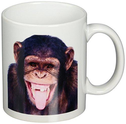 3dRose Laughing Monkey Mug 11-Ounce