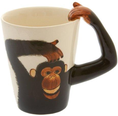 Monkey Handle Tea  Coffee Mug by Windhorse