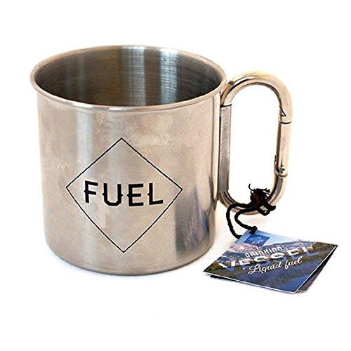 Gift Republic Grey Wild Life Enamel Mug