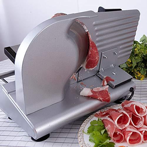 MEIJIQI 200W Electric Slicer Household Lamb Slice Meat Slices of Bread Hot Pot Desktop Meat Cutting Machine