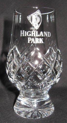 Highland Park Official Glencairn Cut Crystal Scotch Malt Whisky Tasting Glass