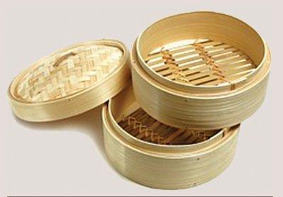 Oriental Mascot 10'' Bamboo Steamer Best On The Market!
