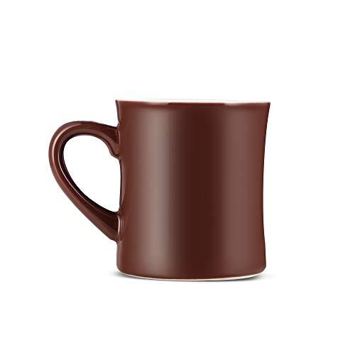 Espresso Parts Porcelain Coffee Mug 10oz BROWN 2