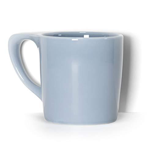 notNeutral LINO Porcelain Coffee Mug - Periwinkle  Single Mug  Ergonomic  Unique Coffee Mug  For Use at Home and Coffee Shops