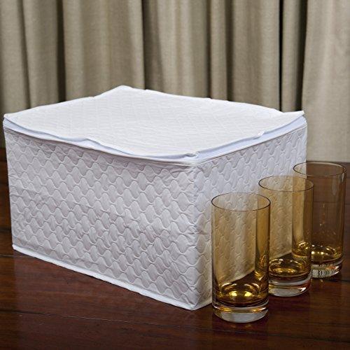 Marathon Housewares KW200007 China Storage Stemware  Glass Case Vinyl
