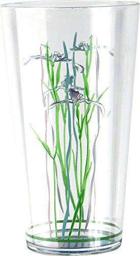 Corelle Coordinates by Reston Lloyd Shadow Iris Acrylic Tumbler Glasses 19-Ounce Set of 6