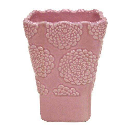Allure Home Creations Stella Pink Ceramic Tumbler