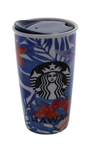 Starbucks 2015 Dot Collection Hawaii Limited Ceramic Travel Tumbler  Mug