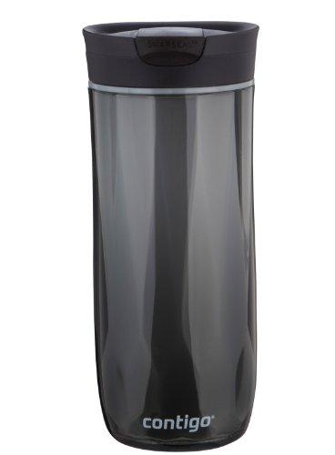 Contigo SnapSeal Byron Double-Wall Plastic Travel Mug 16oz Black